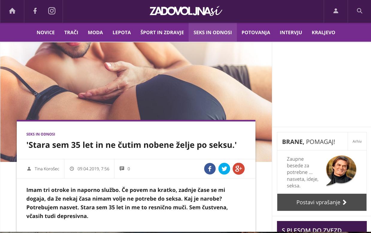 masaža beg seksom
